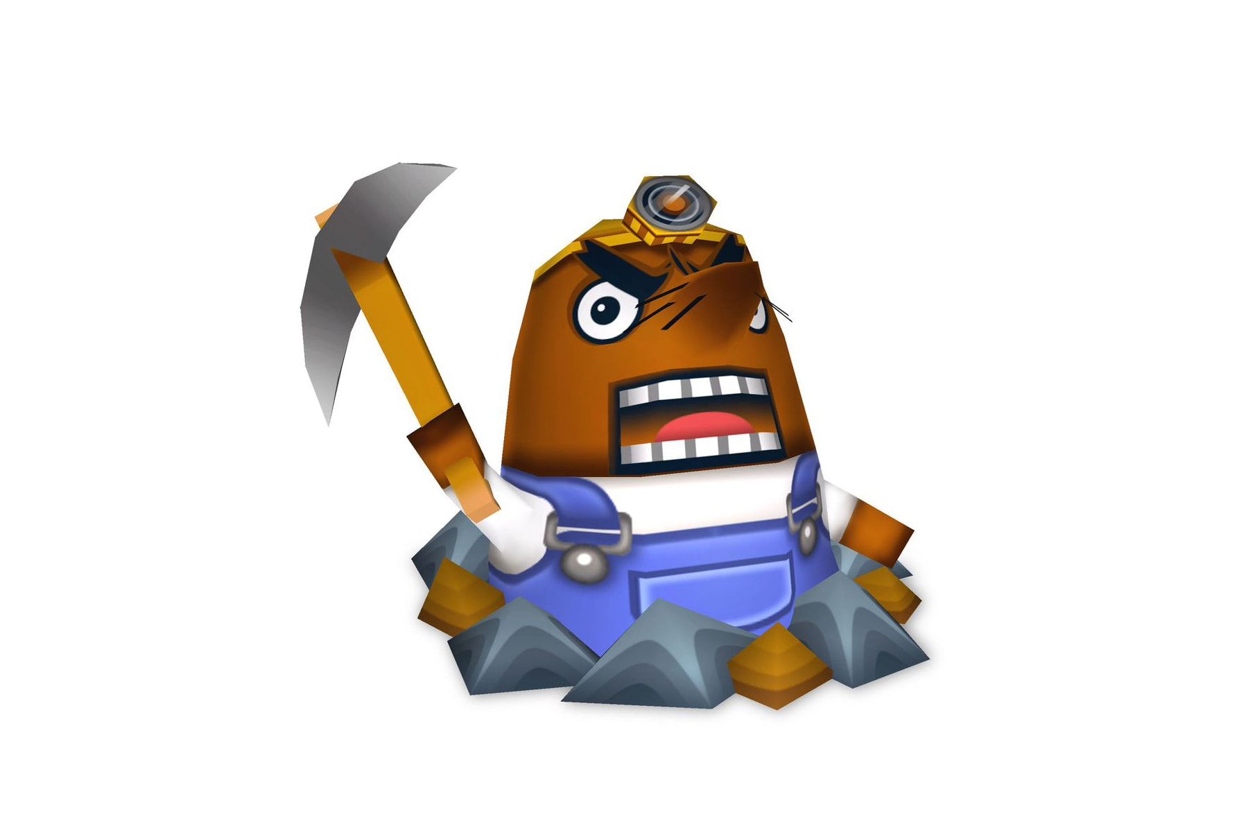 Mr. Resetti Animal Crossing New Horizons