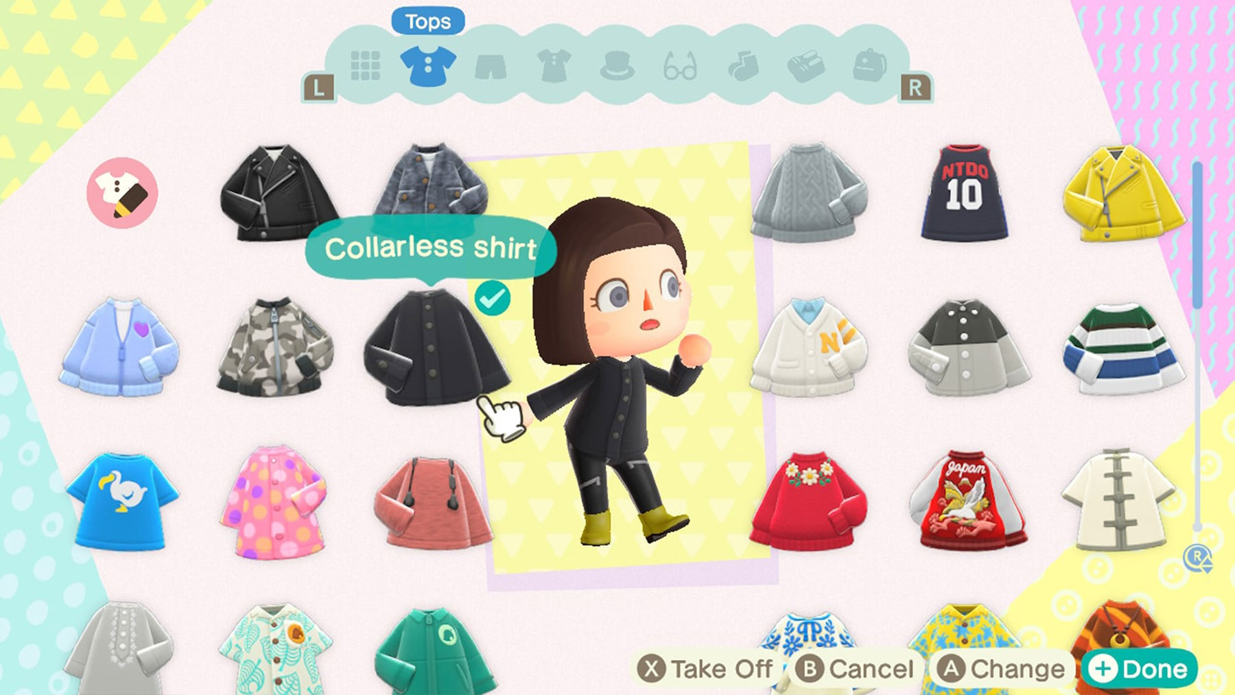 animal crossing clothes