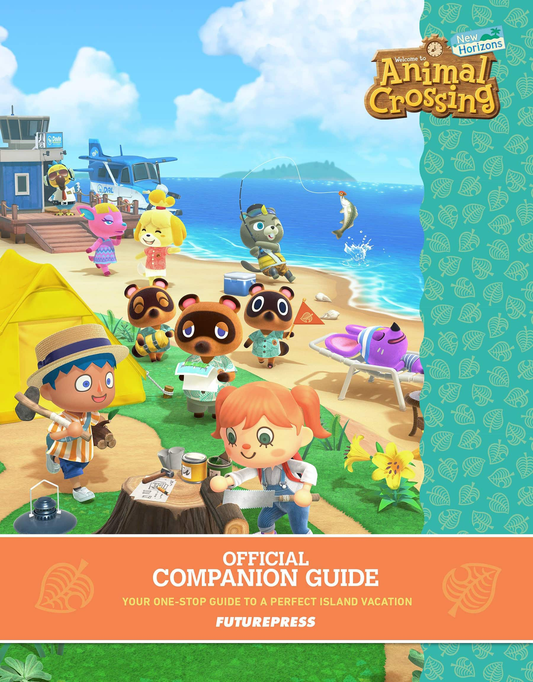 animal crossing new horizons official game guide