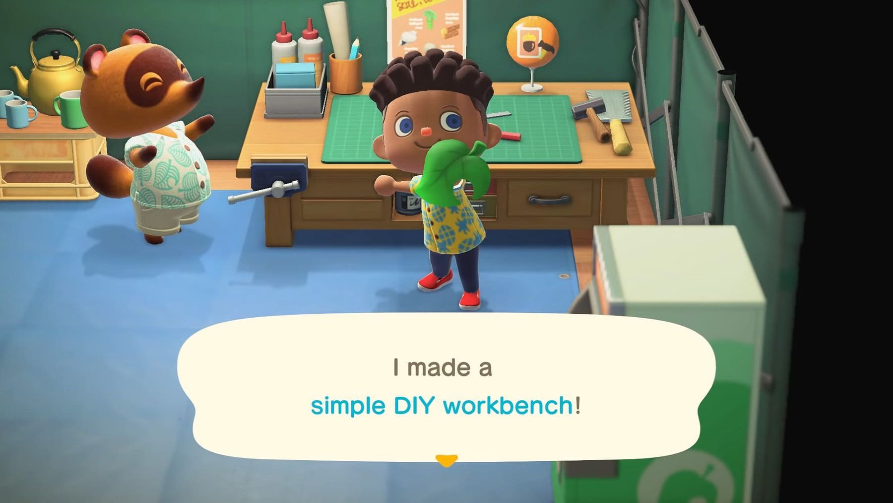 animal crossing workbench