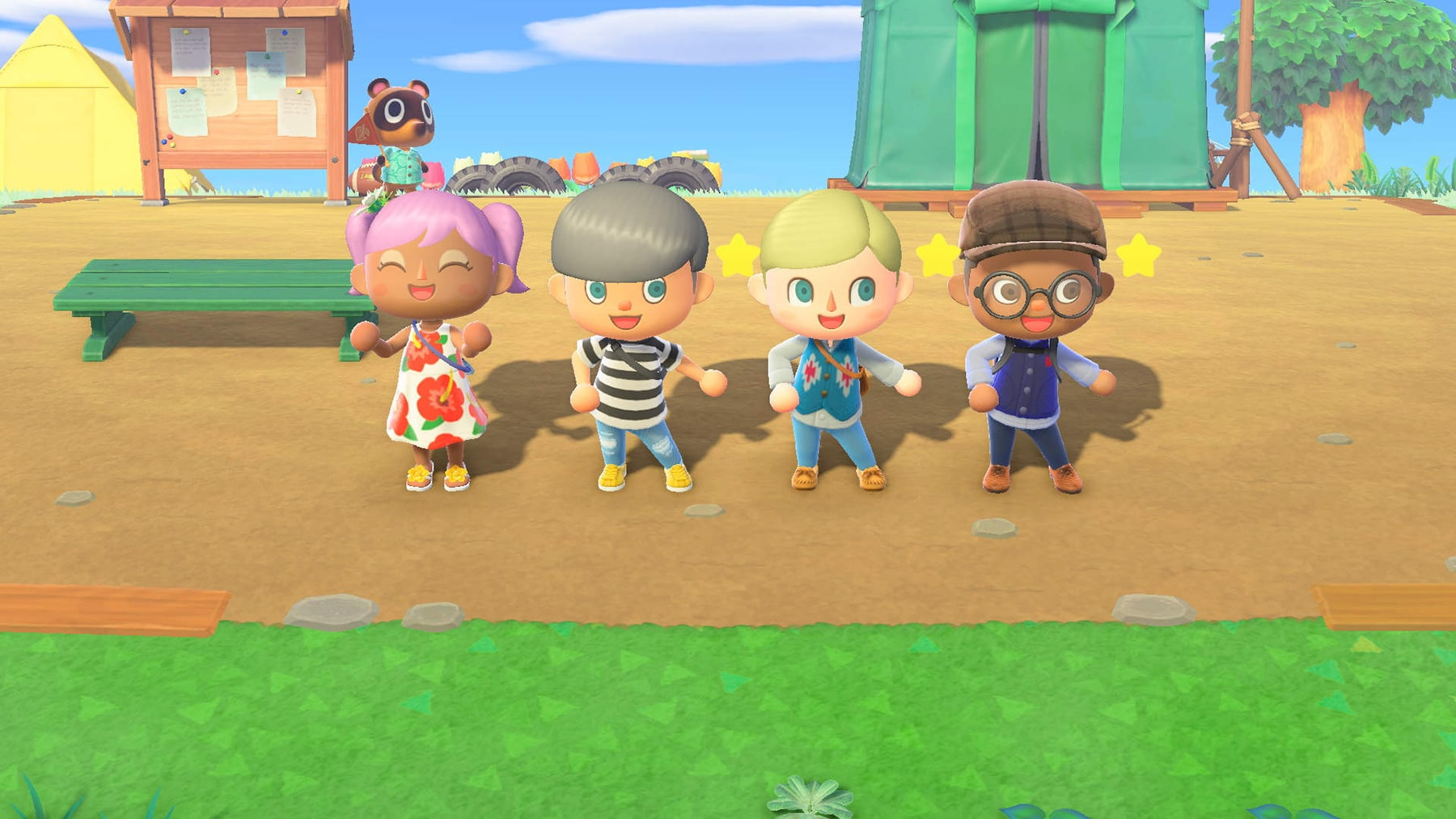 can you customize your animal crossing character