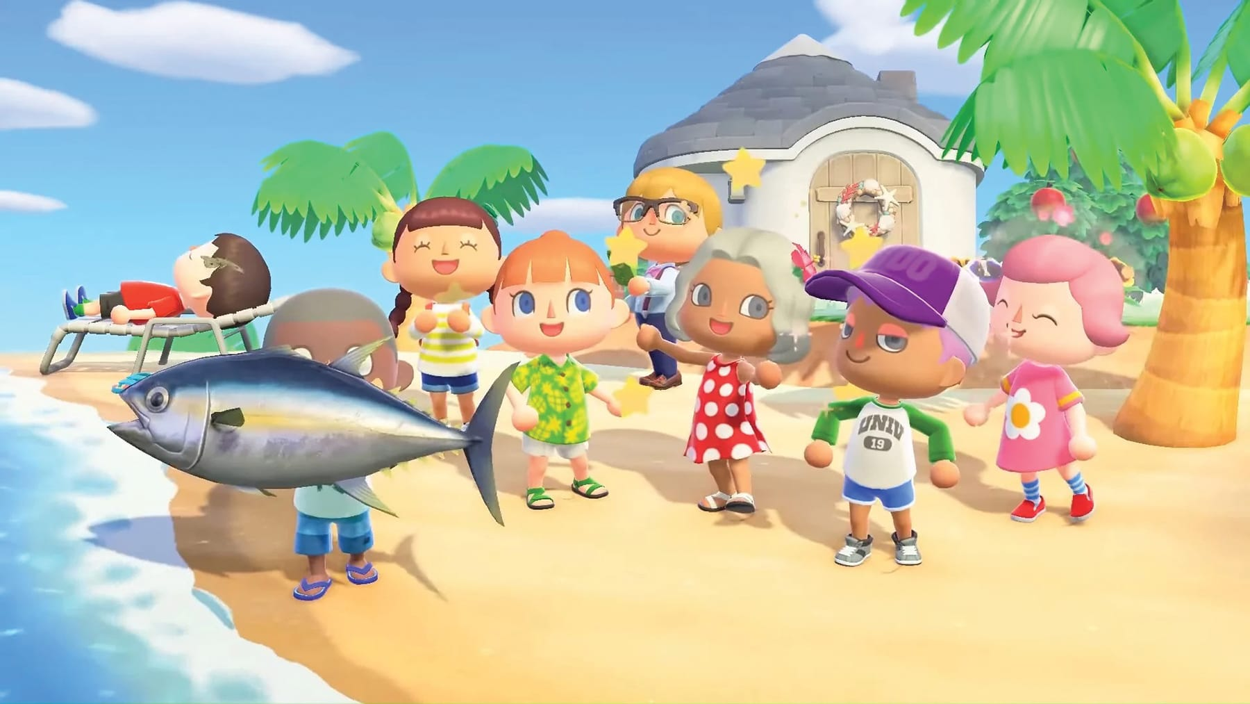 is animal crossing real time